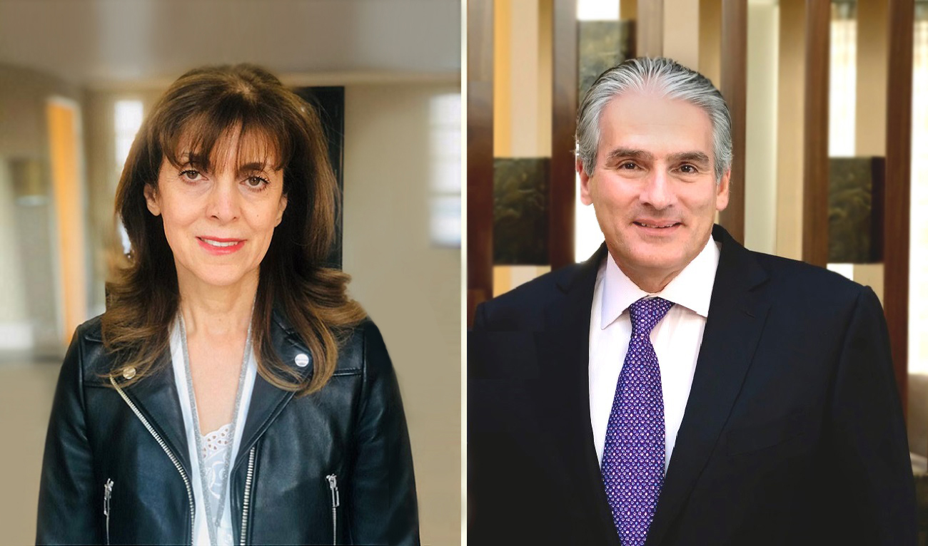 Lena Sarkissian and Yervant Demirjian AUA Trustees