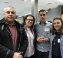 arents and relatives of AUA veteran students at the welcoming event