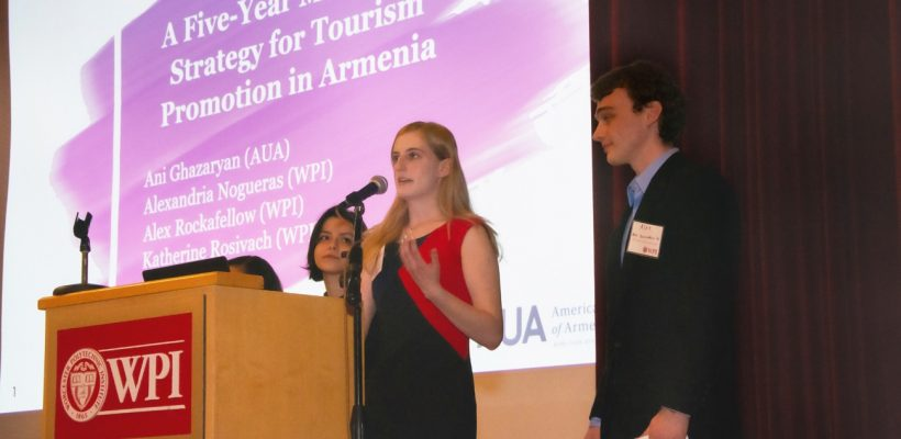 AUA-WPI partnership (Photo - David Medzorian)