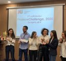 AUA team wins in the Finance Challenge 2020 (Photo - IAB)
