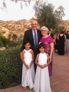 Annie Safoian with her family