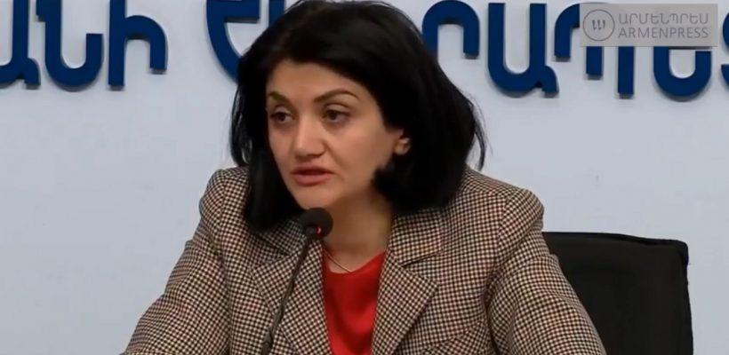 Lena Nanushyan's Press COnference on Coronavirus Updates