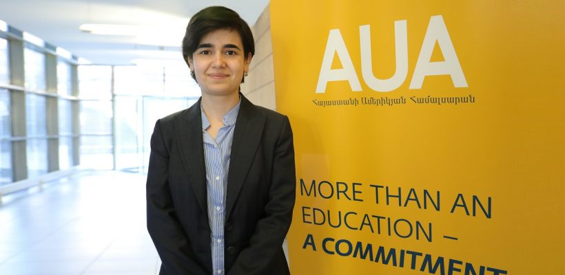 Margarita Dadyan believes in the Enlightening Superpower of AUA
