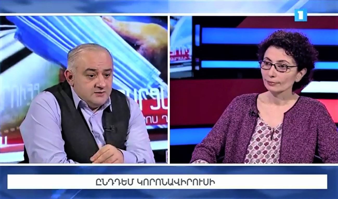 Petros Ghazaryan and Varduhi Petrosyan
