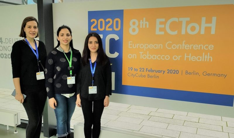 SPH Researchers at European Conference on Tobacco or Health