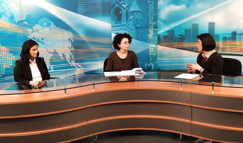 Tatevik Hovakimyan and Varduhi Petrosyan on Shoghakat TV