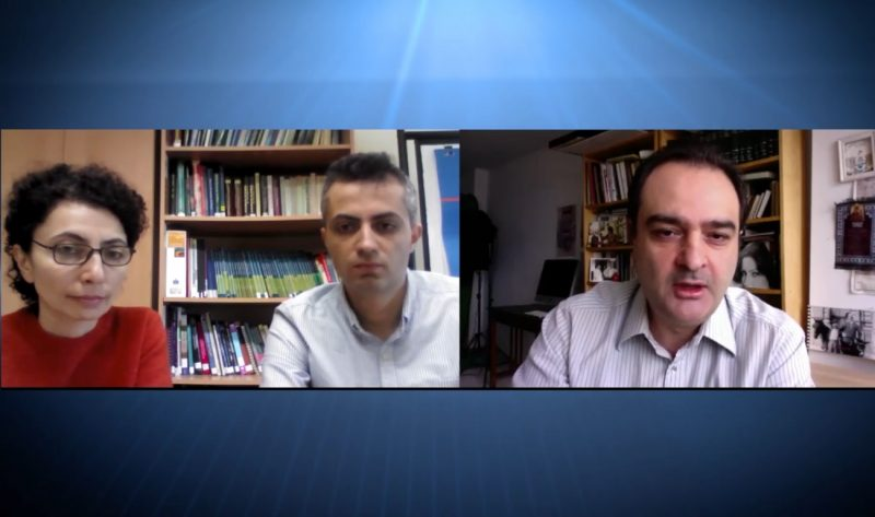 Varduhi Petrosyan and Vahe Khachadourian's online interview