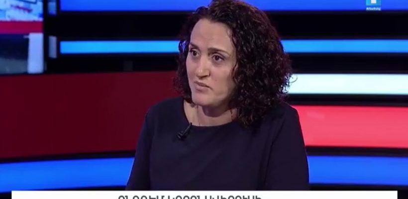 Yelena Sardaryan interviewed on coronavirus