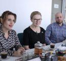 (l-r) Irina Dumanyan, Karin Markides, Artur Khalatyan