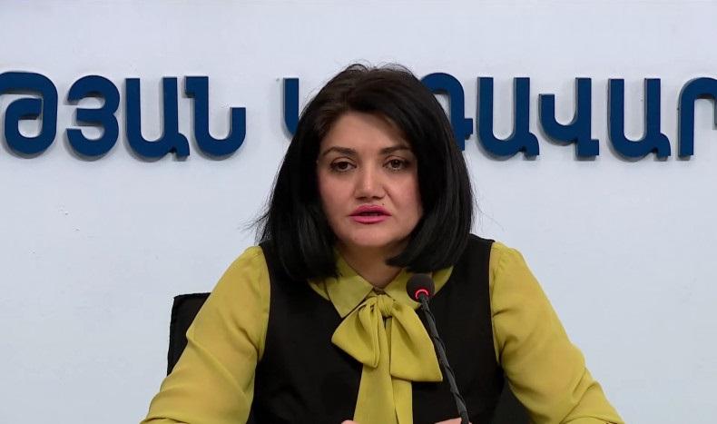 Lena Nanushyan press conference