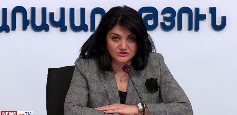 Lena Nanushyan's press conference 14.05.2020