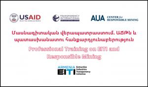 CRM EITI Training Responsible Mining