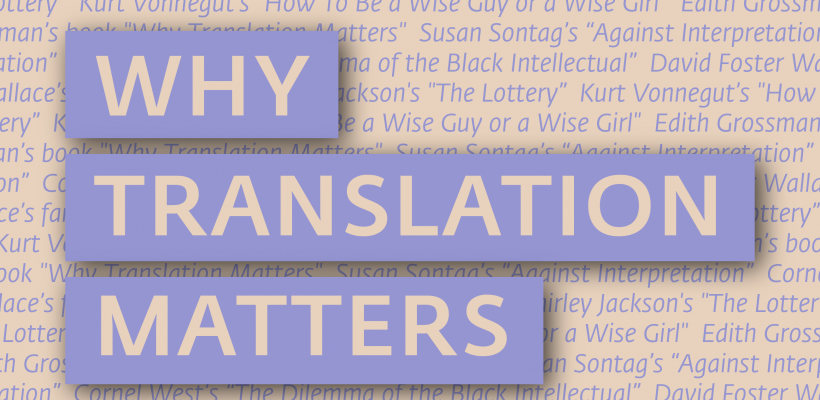 CHSS Student Translations