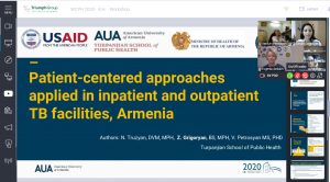 """""""Patient-centered approaches applied in inpatient and outpatient TB services in Armenia"""""""