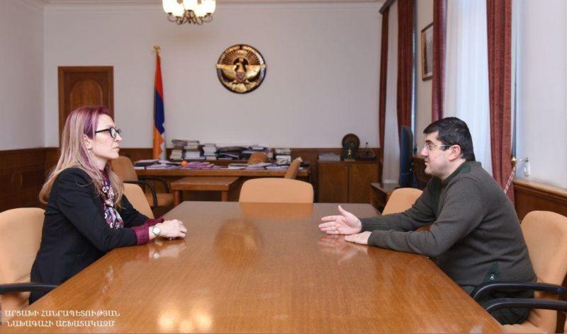 Mane Tandilyan, Artsakh