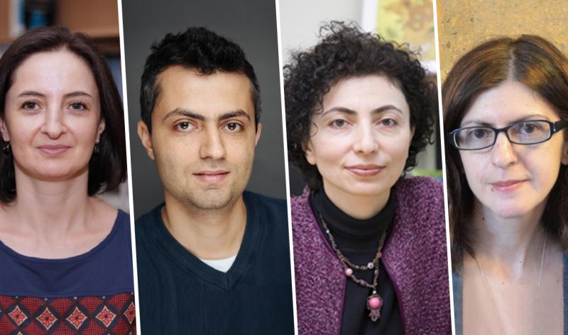 Aida Giloyan, Vahe Khachadourian, Varduhi Petrosyan, Tsovinar Harutyunyan
