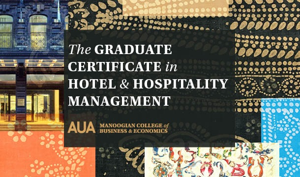 Graduate Certificate in Hotel & Hospitality Management