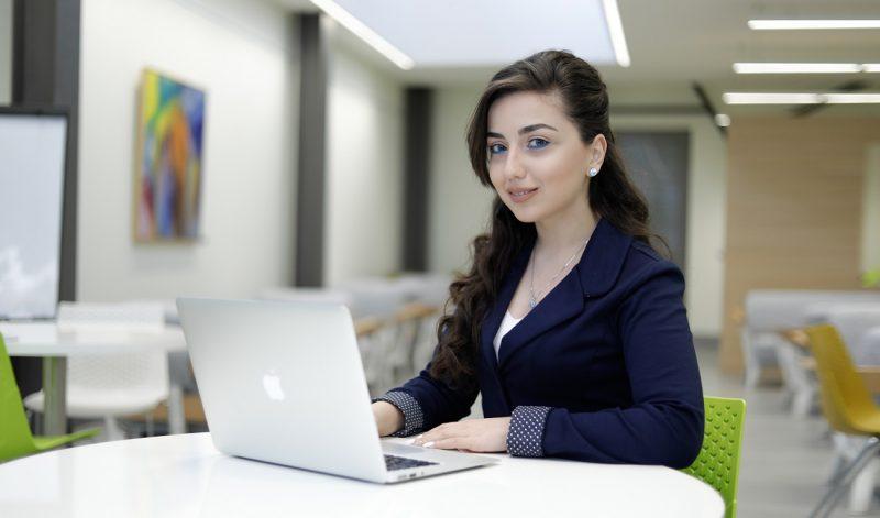 Mane Sahakyan, a woman in IT
