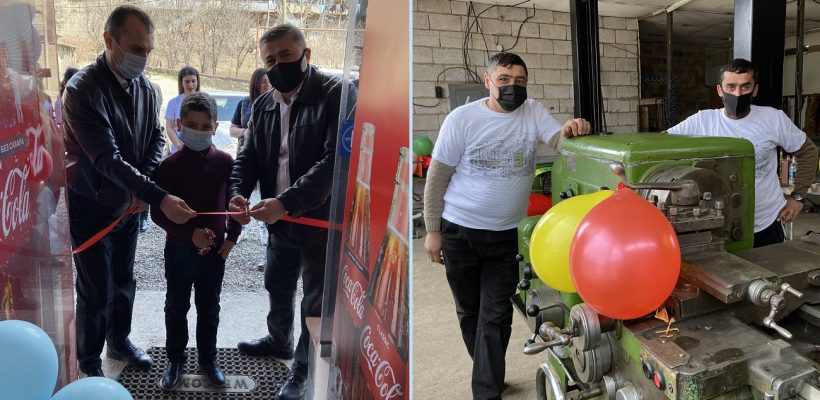 AUA TRDP Supports Opening of Two Businesses in Tavush