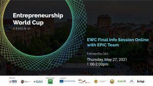 Entrepreneurship World Cup Final Online Info Session