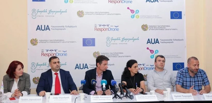 UAV Competition press conference