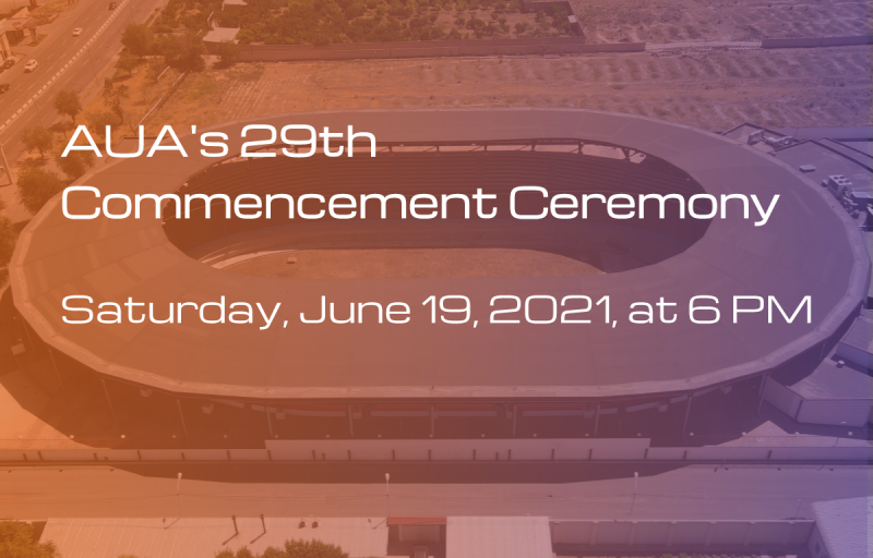 AUA's 29th Commencement Ceremony