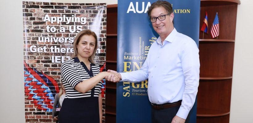 Arevik Saribekyan and Brian Ellison