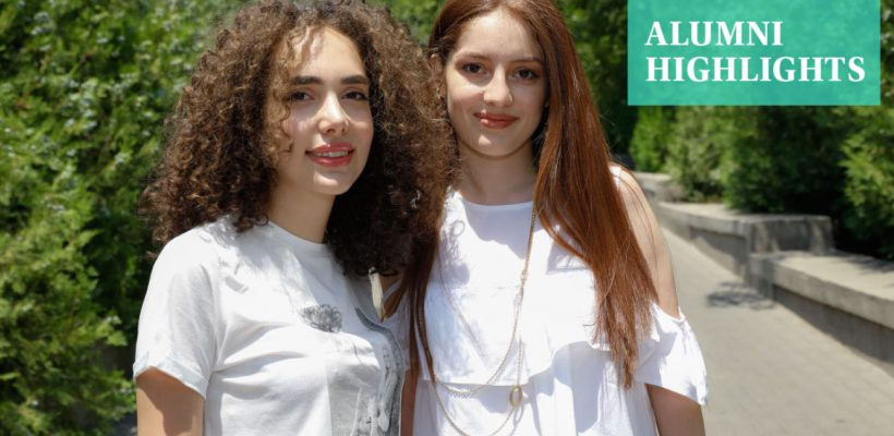 Silvia Khachatryan (C Tr. '20) and Laura Hovakimyan (C Tr. '20)