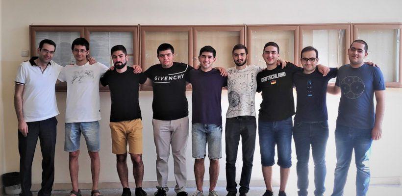 Armenian Student Team Wins medals