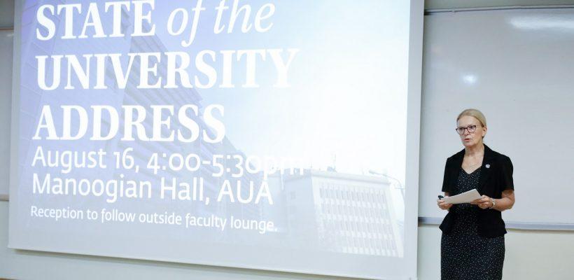 State of the University Address