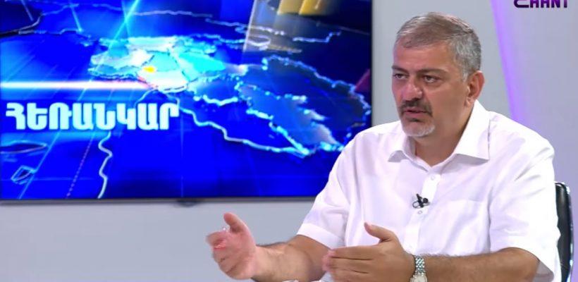 Vache Gabrielyan, Shant TV