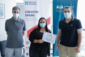 Dr. Aram Hajian, Laura Maroyan, Arman Arakelyan