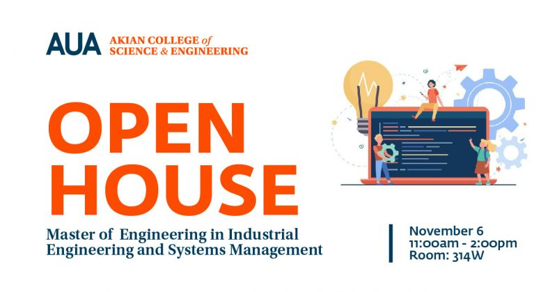 Open House Master in IESM