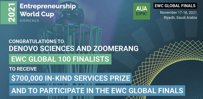 Entrepreneurship World Cup Global 100 Finalists