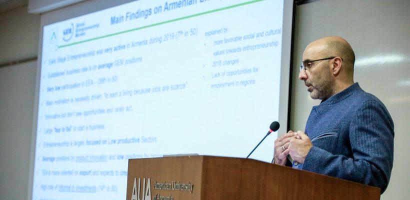 GEM Armenia National Report Presentation