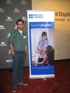 AUA TEFL Alumnus Wins British Council's Blogathon 2013 Competition