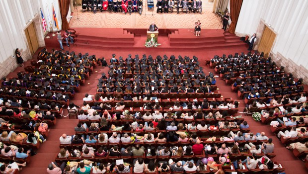 Snapshots & Media Coverage of the 2014 Commencement Ceremony