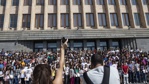 San Francisco Chronicle: UC Helps Build Resources, Revenue at Private Armenian University