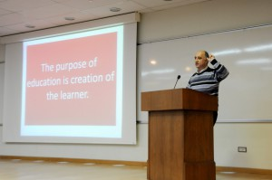 What is Wrong with Education? Interactive Lecture Held at AUA