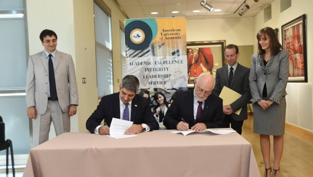 AUA Global Outreach Expands as University Signs MoU with ChinaHay to Bring Chinese Students to Armenia