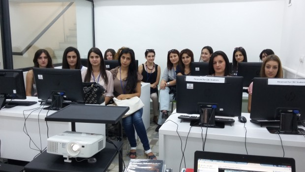 AGBU Papazian Library Hosts Students from State Pedagogical University