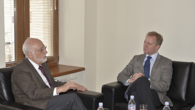 "Swedish Ambassador Pays Visit to AUA, As Part of an Effort to ""Improve"" the Image of Sweden among Armenians"