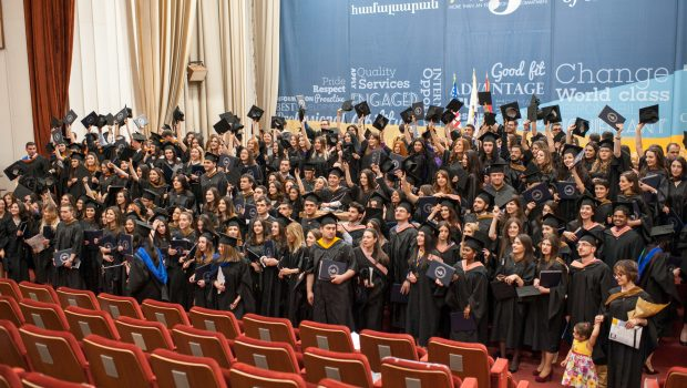 AUA Honors Class of 2016 with 24th Commencement Ceremony