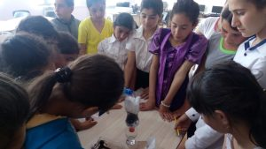 AUA Students Teach English and Environmental Responsibility to Children in Rural Villages