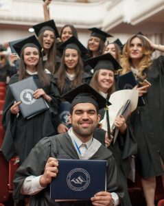 Syrian Armenian teaches English in a region after successfully graduating from the American University of Armenia