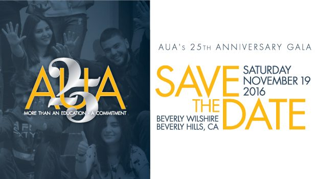 AUA 25th Anniversary Gala Black Tie Event In Los Angeles