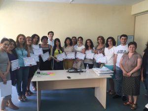 Teacher Training in Vanadzor at Public School 22