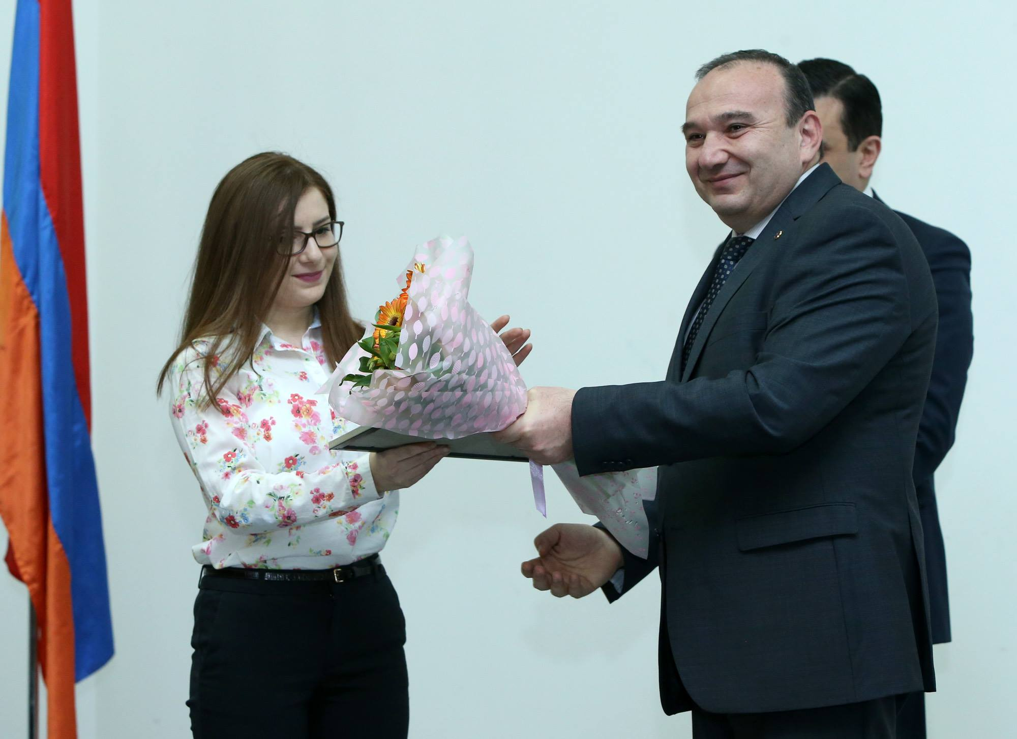 "MA TEFL Student Arus Khcheyan Named ""Best Student"" in the Nationwide Competition by RA Ministry of Education and Science"