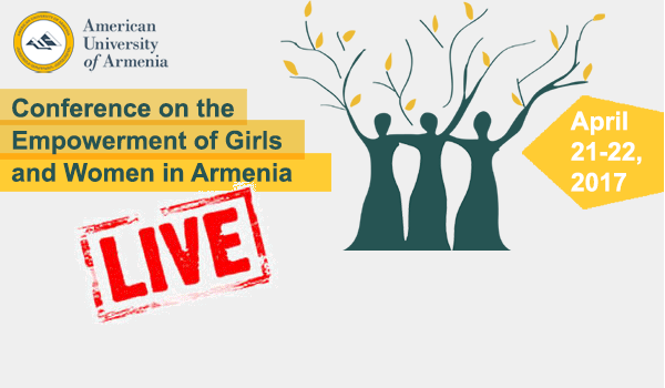 Watch AUA's Empowerment of Girls and Women Conference Live