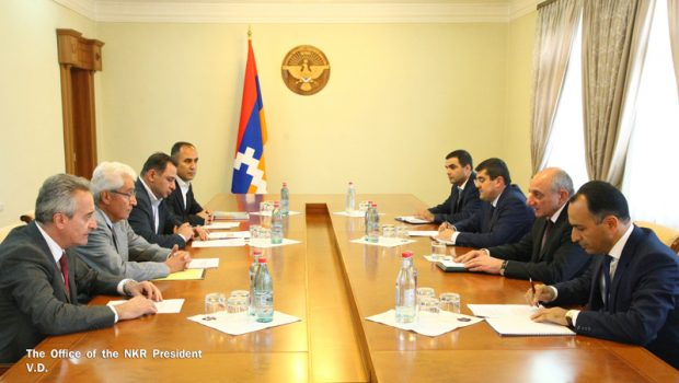 Cooperation Discussed Between AUA and Artsakh State University